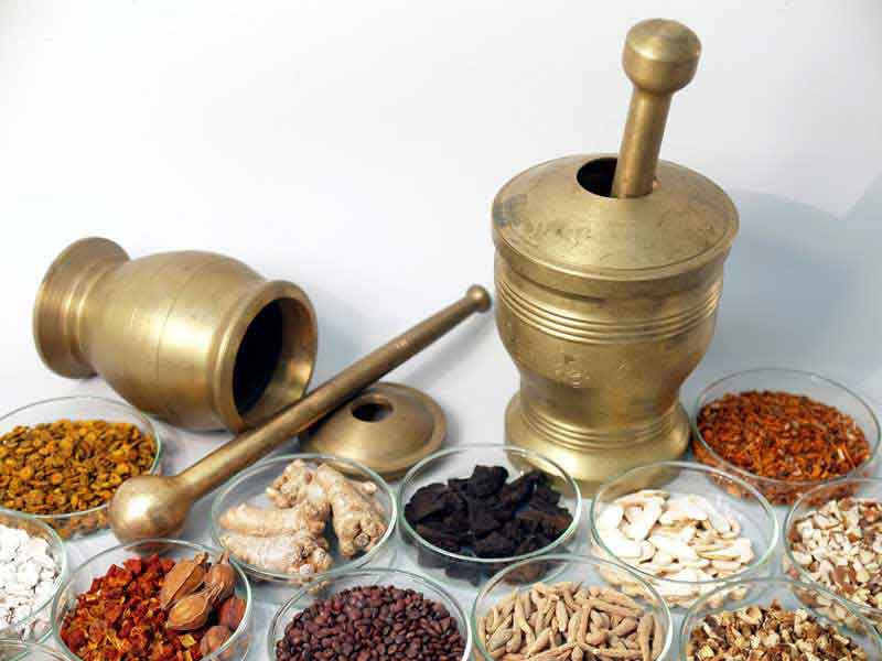 210種類の漢方処方・170種の薬味(生薬)